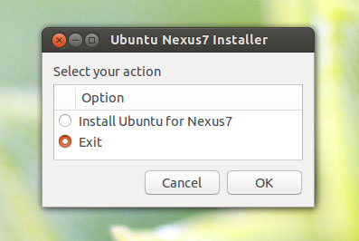 Canonical发布Ubuntu Nexus 7 Desktop Installer
