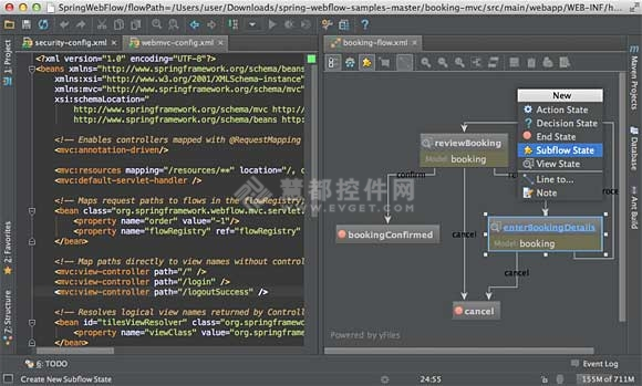 IntelliJ IDEA 12,Spring,XML