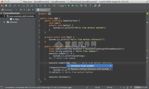 IntelliJ IDEA,IntelliJ IDEA12,JavaIDE,编译器方法