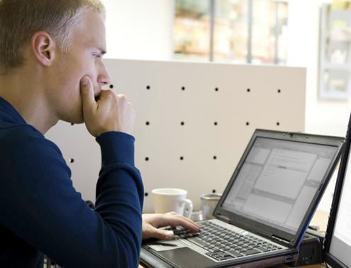 programmer developer at work