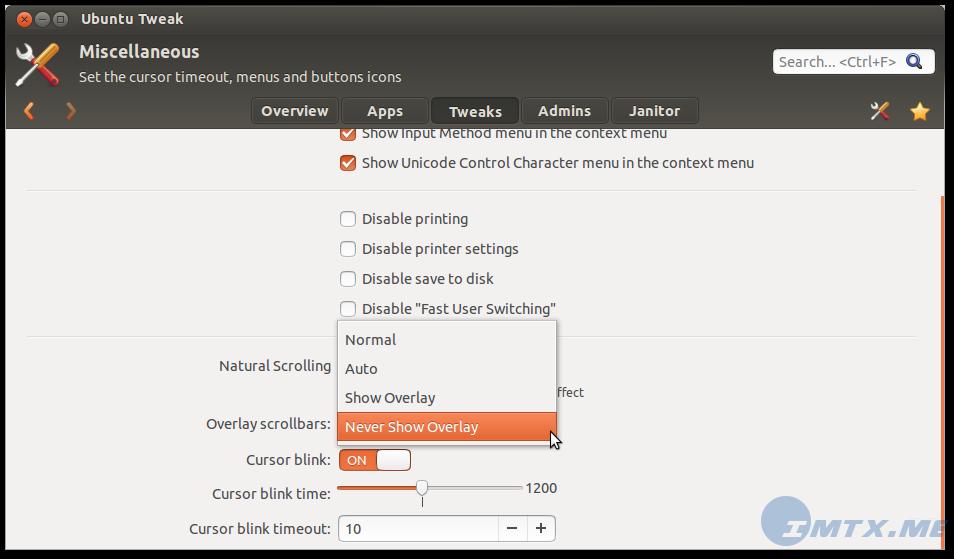 Ubuntu Tweak 0.8.3 1