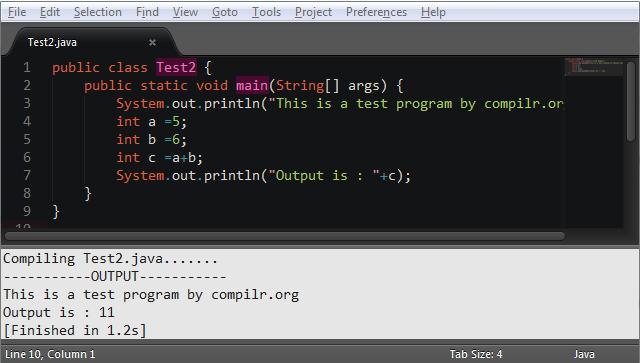 Build and Run Java Programs