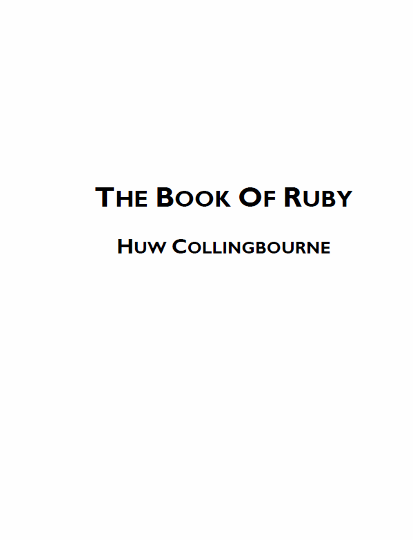 The Book in Ruby