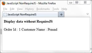 NonRequireJS_PrasadHonrao_Codetails