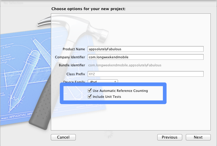 ARC Related changes to Xcode 4.2