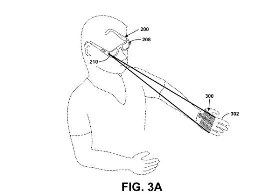 谷歌激光投射键盘专利