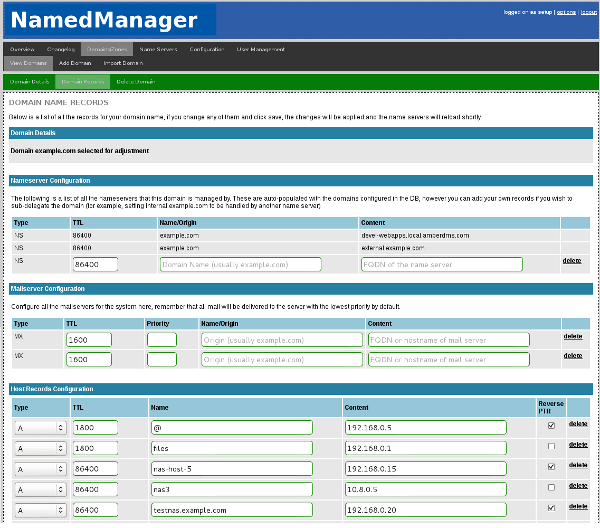 NamedManager