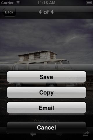 ios Photo Browser