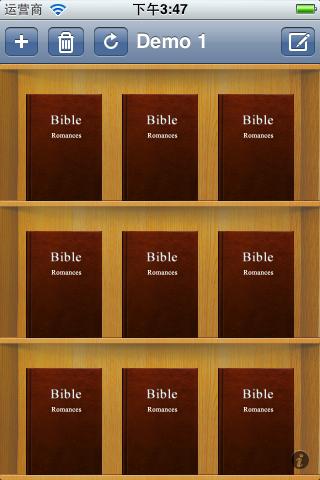 ios 书架例子