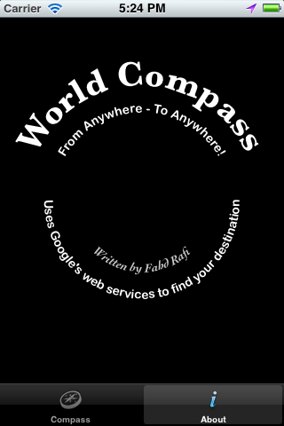 ios City Compass