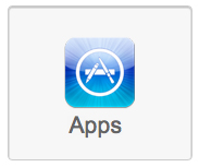 Apple iCloud featured anchor link boxes