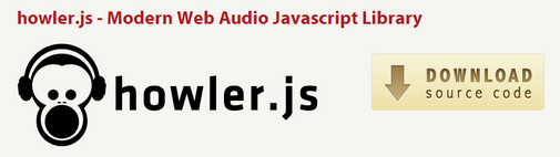 JavaScript 音频库 howler.js
