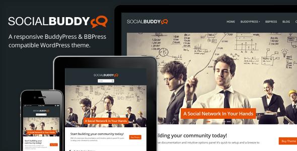 为你推荐Wordpress & Buddy Press 的18个主题应用- 设计源自生活