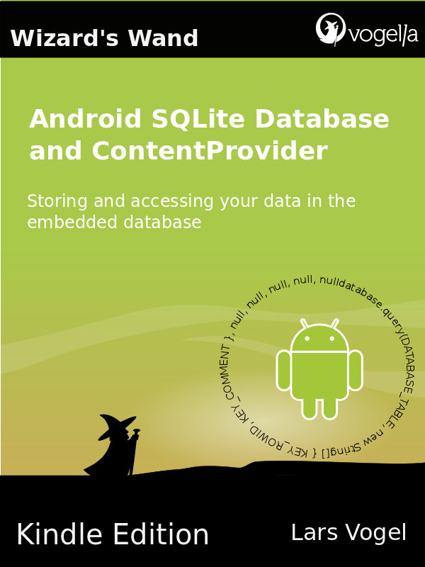 Android SQLite Database and ContentProvider - T