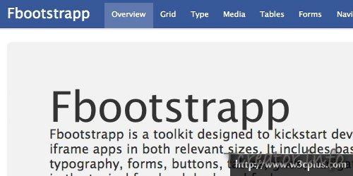 FB Boostrap