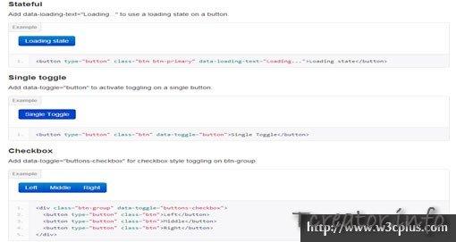 Buttons bootstrap-button.js