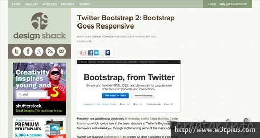 Adding5 Incredibly Useful Tools Built Into Twitter Bootstrap