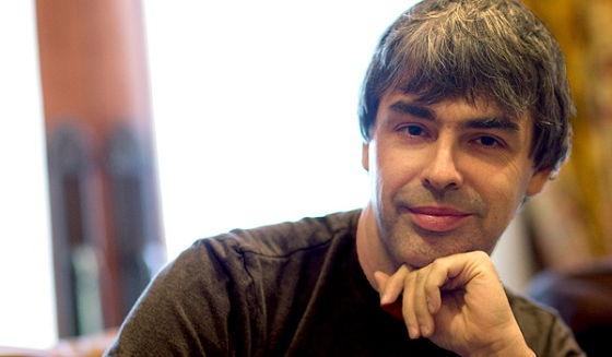 谷歌CEO拉里·佩奇(Larry Page)