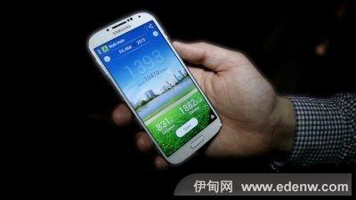 Galaxy S4采用5英寸的超大屏幕,比iPhone 5整整大出1英寸