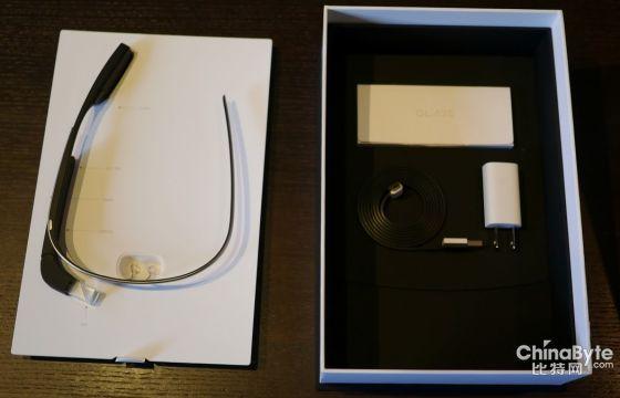 谷歌眼镜开箱组图