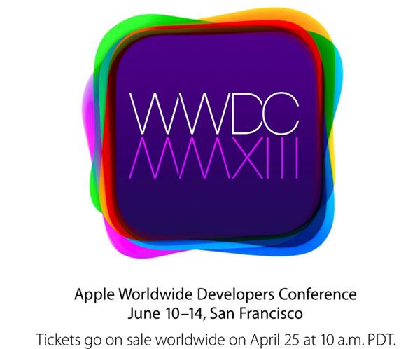 苹果公司2013年开发者大会将于6月10日举行