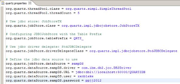 图 7. 实例配置文件