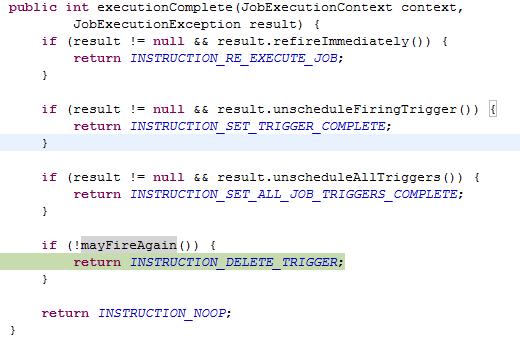 图 15. executionComplete( ) 源码