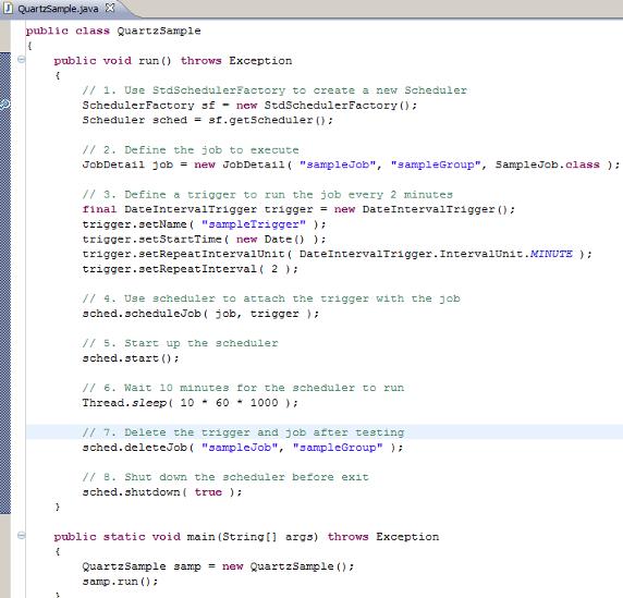 图 9. 实现主程序