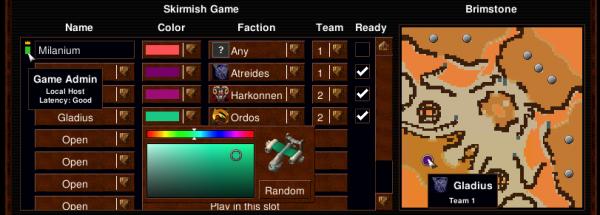 D2K Game Lobby