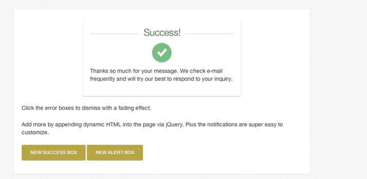css3 notification alert windows messages jquery tutorial