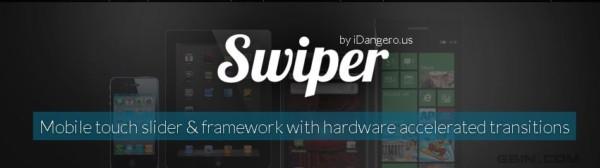 超棒的JS移动设备滑动内容幻灯实现 - Swiper