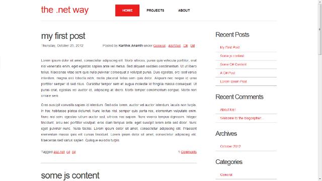 sBlog.Net