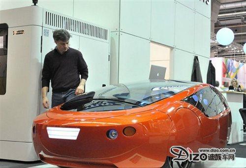 3D打印汽车花费2500小时 Urbee 二代面世
