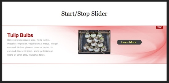 Star-Stop Slider