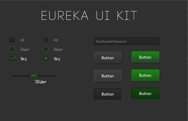 user interface kit eureka codepen open source