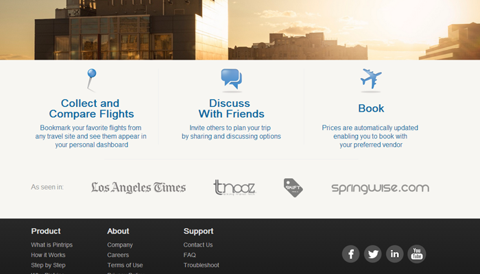 travel trips startup homepage icons detail