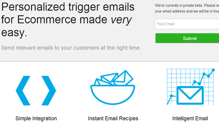 personalized ecommerce solution triggermail products