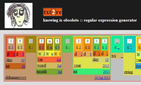 txt2r Regex Tester