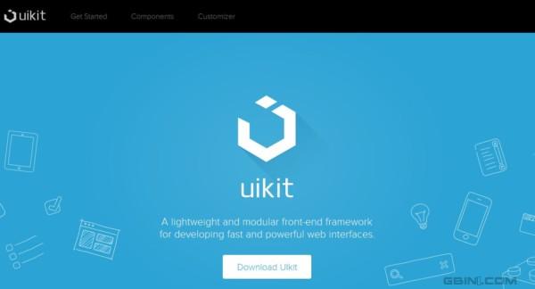轻量级的前端UI开发框架 - UIkit