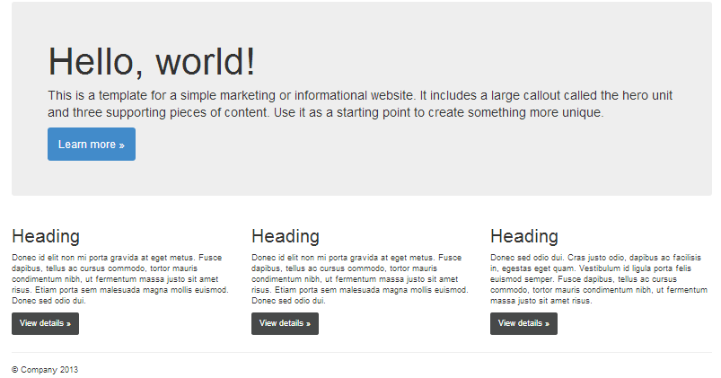 bootstrap 3 examples 5