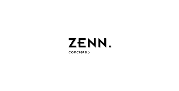 Zenn - Minimal & Responsive concrete5 Theme