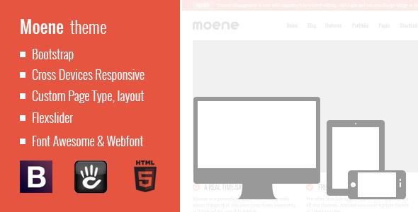 Moene - Responsive Concrete5 Theme