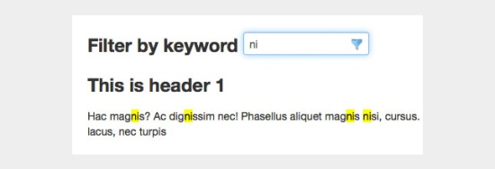 jQuery-text-highlighter-and-filter-Plugin