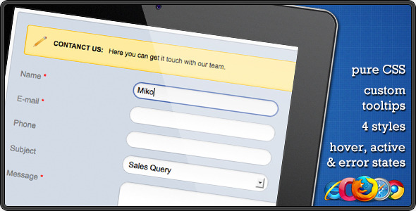 CSS Contact Form