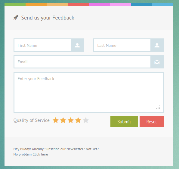 CSS3 Fresh Forms