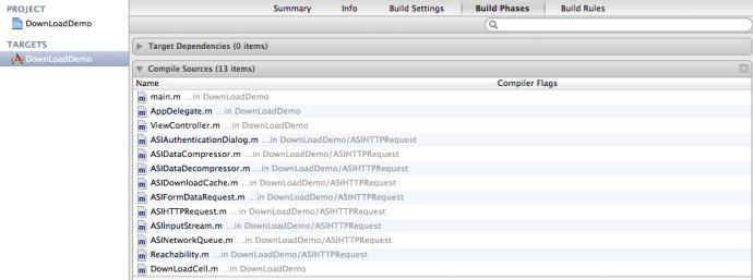 IOS开发之----Xcode非ARC项目中设置部分文件ARC支持