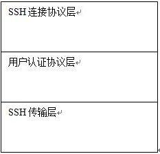图 2. SSH 协议的构成
