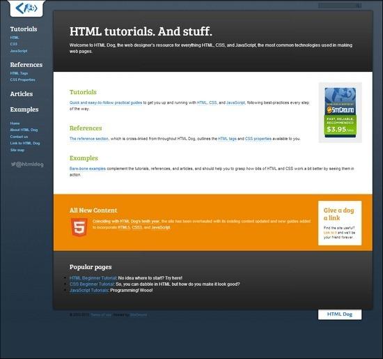 HTML-Dog
