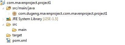 图 9. Maven Project 实例