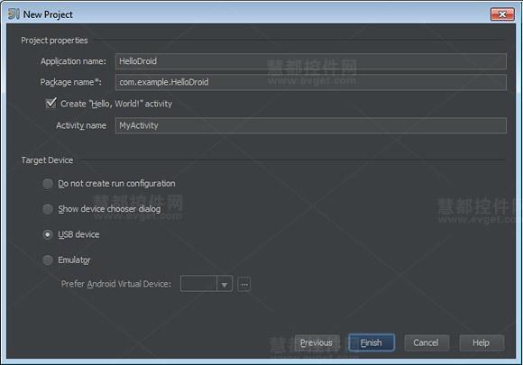 Java开发工具IntelliJ IDEA使用教程:创建新的Andriod项目